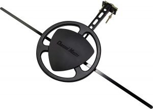 Channel Master Omni+ Omnidirectional Outdoor TV Antenna with Mounting Bracket for Roof